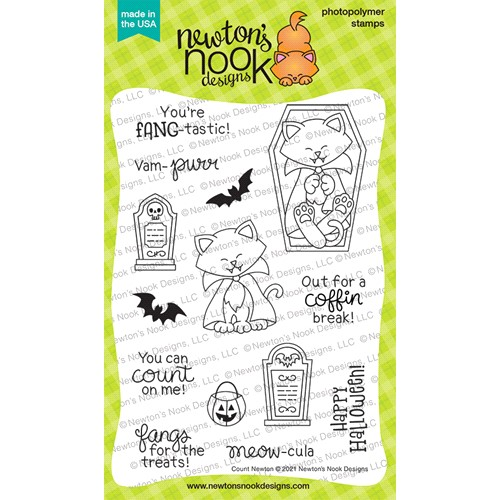 Newton's Nook Designs COUNT NEWTON Clear Stamps NN2108S04 Preview Image