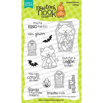Newton's Nook Designs COUNT NEWTON Clear Stamps NN2108S04