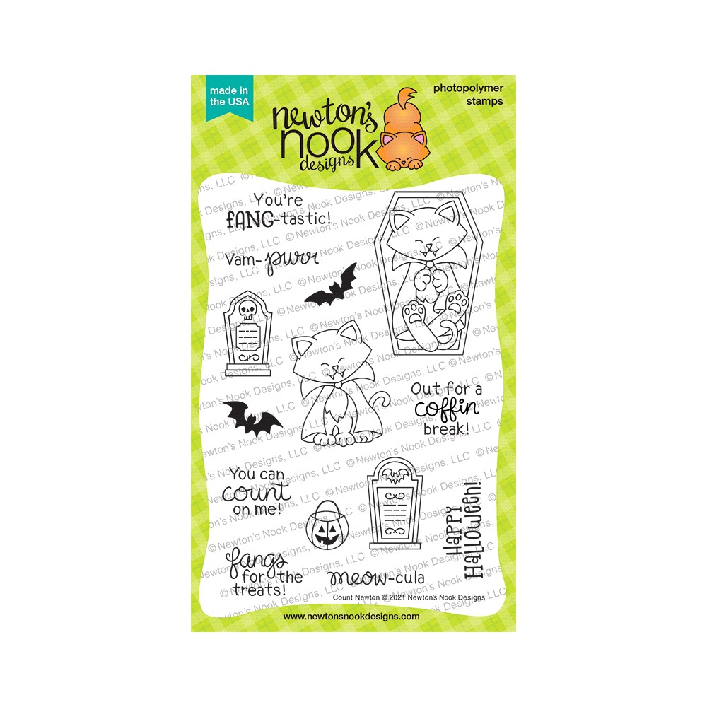 Newton's Nook Designs COUNT NEWTON Clear Stamps NN2108S04 zoom image