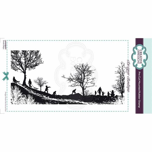 Creative Expressions SNOW DAYS Cling Stamp umsdb077 Preview Image