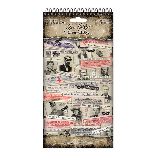 Tim Holtz Idea-ology CURIOSITIES Sticker Book th94148 Preview Image