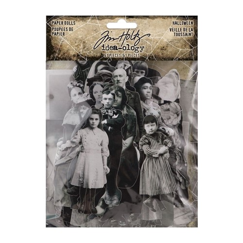 Tim Holtz Idea-ology HALLOWEEN Paper Dolls th94149 Preview Image