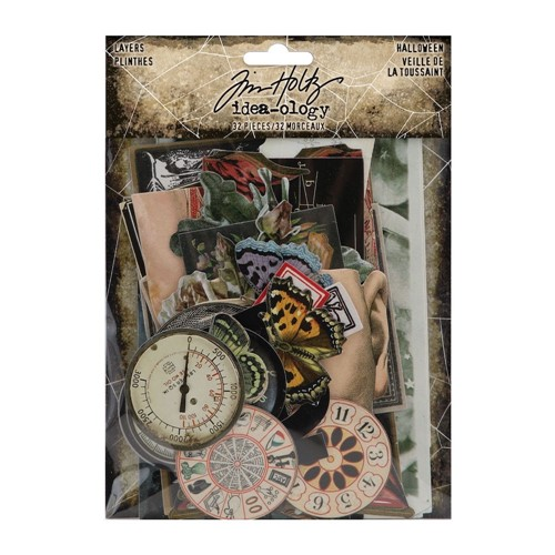 RESERVE Tim Holtz Idea-ology HALLOWEEN Layers th94150 Preview Image