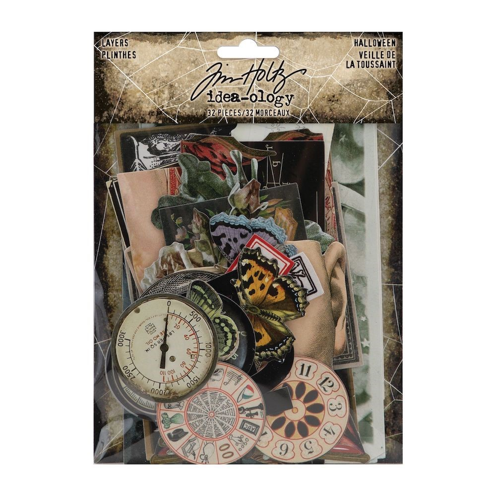 RESERVE Tim Holtz Idea-ology HALLOWEEN Layers th94150 zoom image