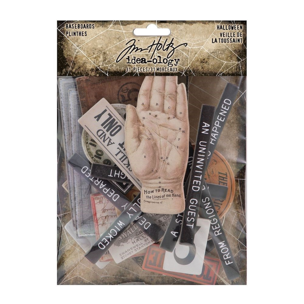 Tim Holtz Idea-ology HALLOWEEN Baseboards th94153 zoom image