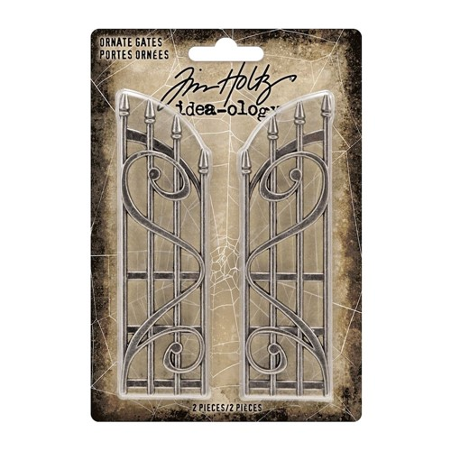 Tim Holtz Idea-ology HALLOWEEN Ornate Metal Gates th94159 Preview Image