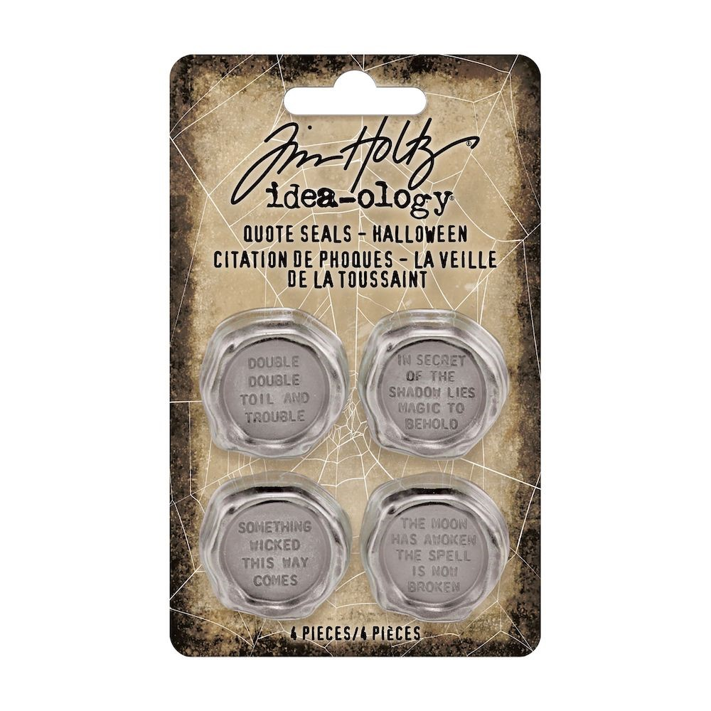Tim Holtz Idea-ology HALLOWEEN Quote Seals th94163 zoom image