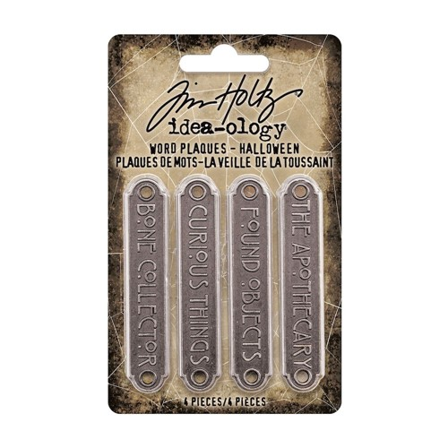 Tim Holtz Idea-ology HALLOWEEN Word Plaques th94164 Preview Image