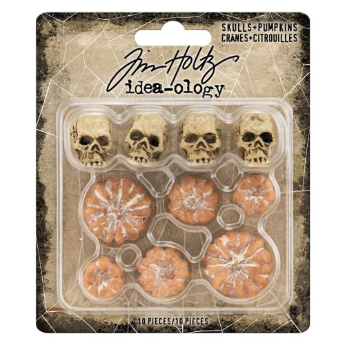 Tim Holtz Idea-ology SKULLS AND PUMPKINS th94169 Preview Image