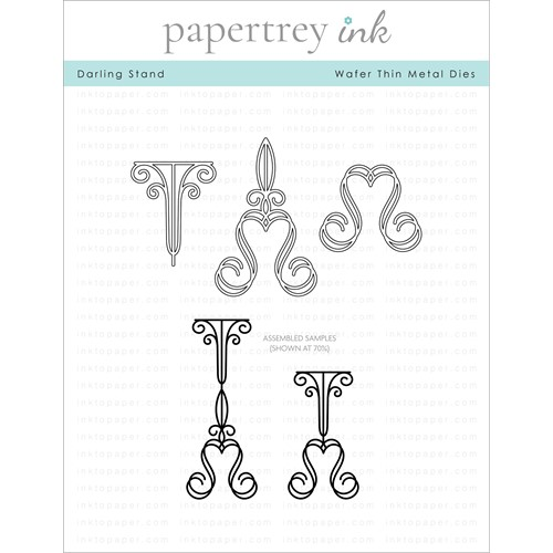 Papertrey Ink DARLING STAND Dies PTI-0337 Preview Image