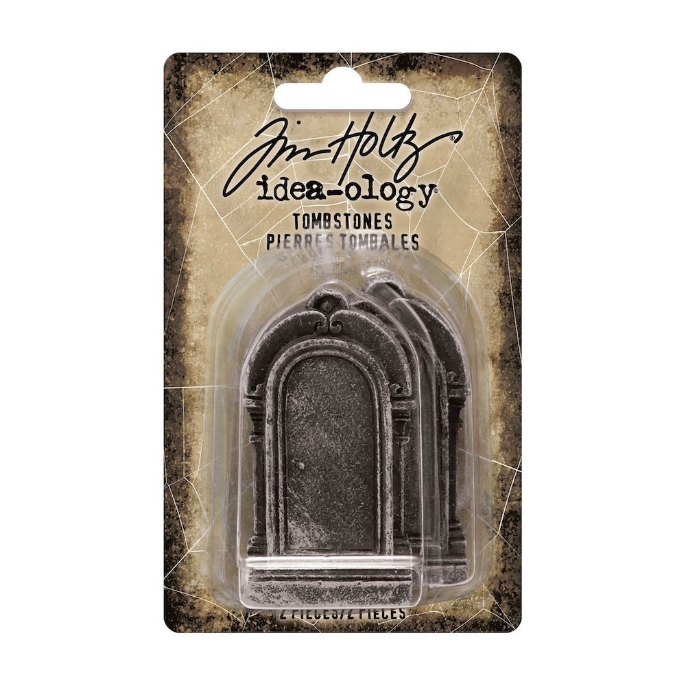 Tim Holtz Idea-ology TOMBSTONES th94173 zoom image