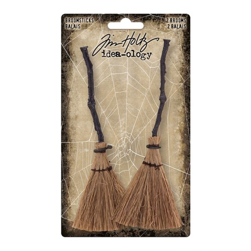 Tim Holtz Idea-ology BROOMSTICKS th94176 Preview Image
