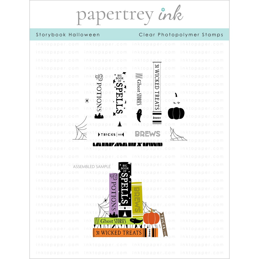 Papertrey Ink STORYBOOK HALLOWEEN Clear Stamps 1317 zoom image