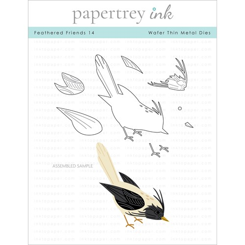 Papertrey Ink FEATHERED FRIENDS 14 Dies PTI-0324 Preview Image