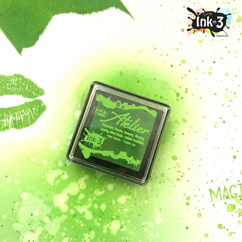 Inkon3 GODDESS GREEN Fusion Ink Cube ggcube Preview Image