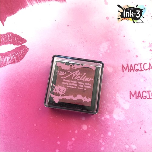 Inkon3 SWEET PETUNIA PINK Fusion Ink Cube ppcube Preview Image