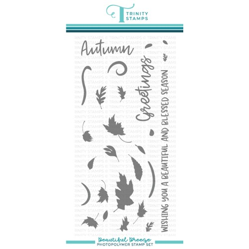 Trinity Stamps BEAUTIFUL BREEZE Clear Stamp Set tps148 Preview Image