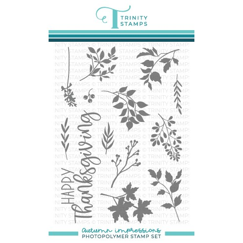Trinity Stamps AUTUMN IMPRESSIONS Clear Stamp Set tps145 Preview Image