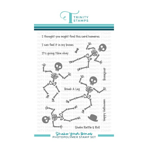 Trinity Stamps SHAKE YOUR BONES Clear Stamp Set tps142 Preview Image