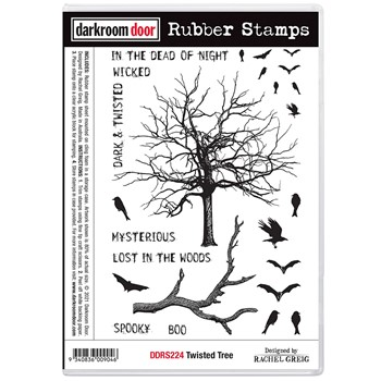 Darkroom Door Cling Stamps TWISTED TREE ddrs224