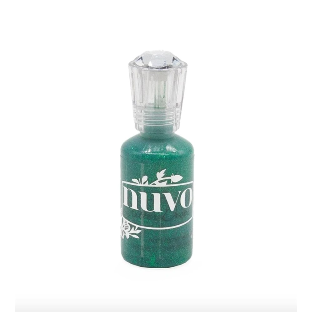 Tonic GROTTO GREEN Nuvo Glitter Drops 778n zoom image