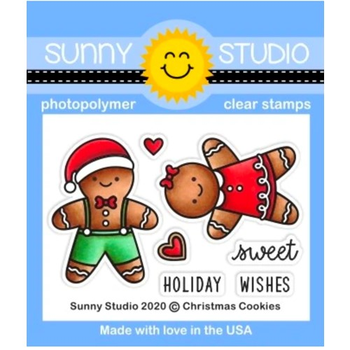Sunny Studio CHRISTMAS COOKIES Clear Stamps sscl-310 Preview Image