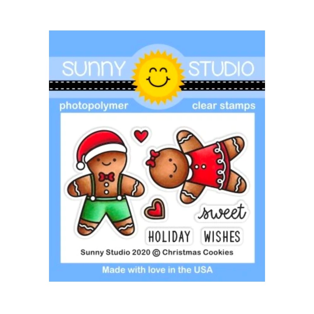 Sunny Studio CHRISTMAS COOKIES Clear Stamps sscl-310 zoom image