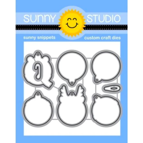 Sunny Studio DECK THE HALLS Snippets Dies ssdie-258 Preview Image