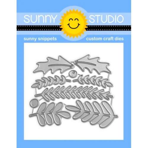 Sunny Studio WINTER GREENERY Snippets Dies ssdie-272 Preview Image