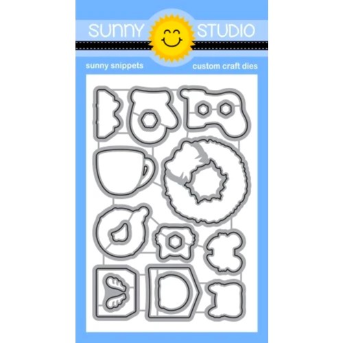 Sunny Studio CHRISTMAS CRITTERS Snippets Dies ssdie-256 Preview Image