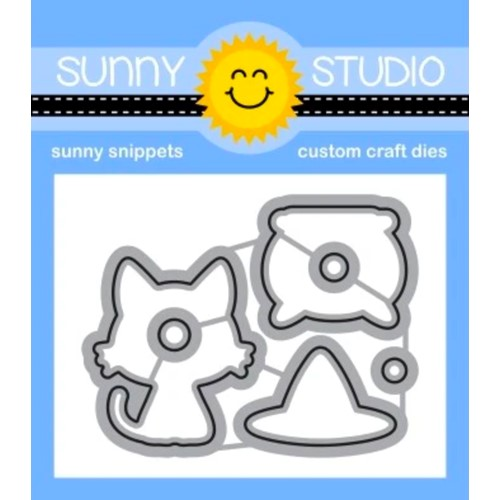 Sunny Studio BEWITCHING Snippets Dies ssdie-255 Preview Image
