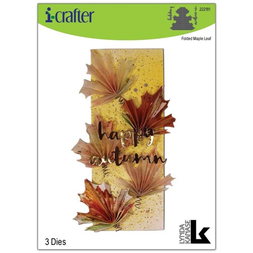 i-Crafter FOLDED MAPLE LEAF Dies 222181 Preview Image