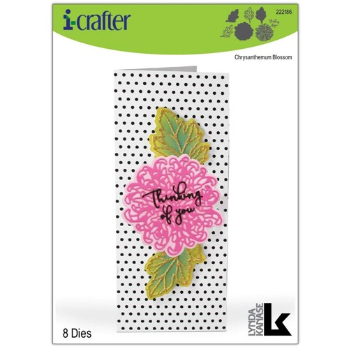 i-Crafter CHRYSANTHEMUM BLOSSOM Dies 222186 Preview Image