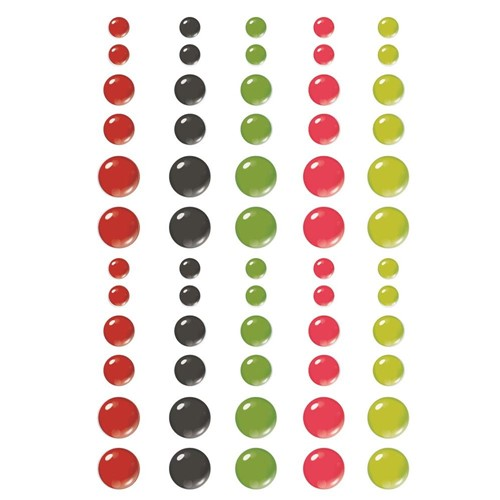 Simple Stories MAKE IT MERRY Enamel Dots 15724 Preview Image