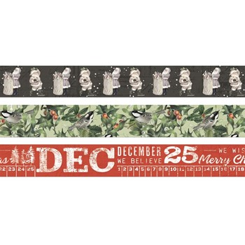 Simple Stories VINTAGE RUSTIC CHRISTMAS Washi Tape 16029