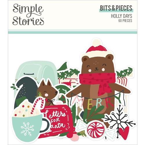 Simple Stories HOLLY DAYS Bits And Pieces 16116 Preview Image