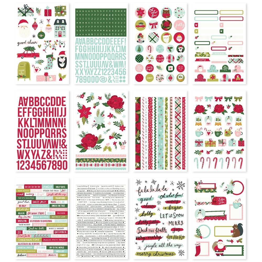 Simple Stories HOLLY DAYS Sticker Book 16118 zoom image