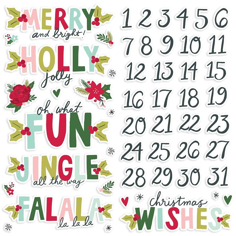Simple Stories HOLLY DAYS Foam Stickers 16120 zoom image