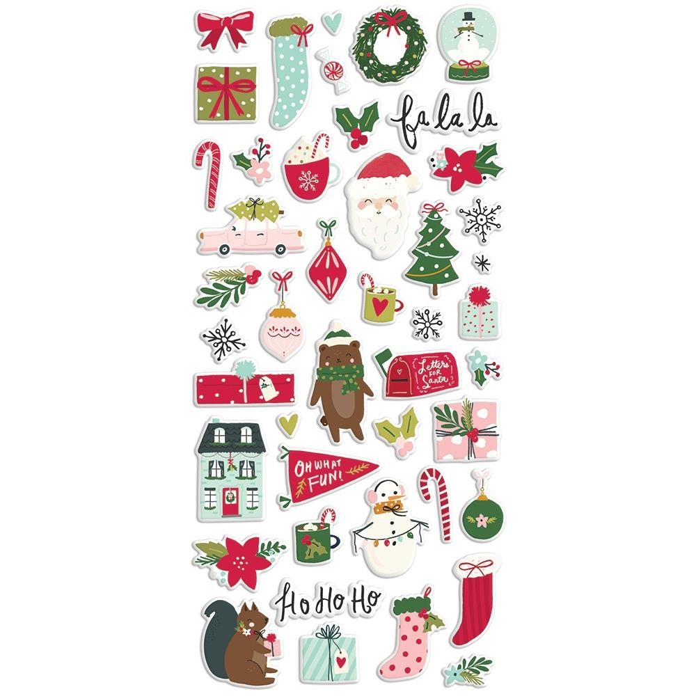 Simple Stories HOLLY DAYS Puffy Stickers 16121 zoom image