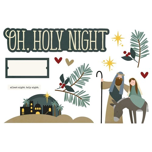 Simple Stories OH HOLY NIGHT Page Pieces 15948 Preview Image