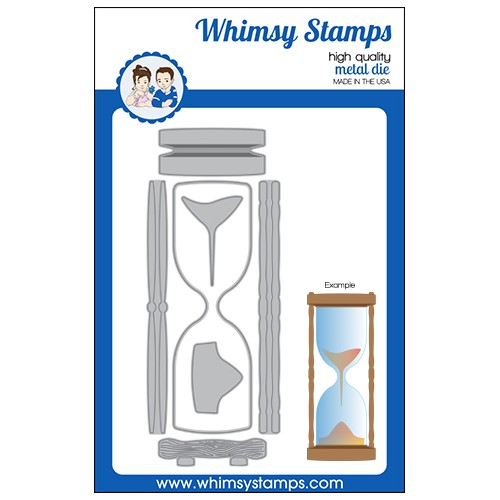 Whimsy Stamps HOUR GLASS Slimline Dies WSD350a Preview Image