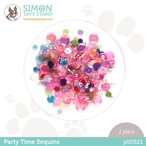 Simon Says Stamp Sequins PARTY TIME pt0921 Stamptember Preview Image