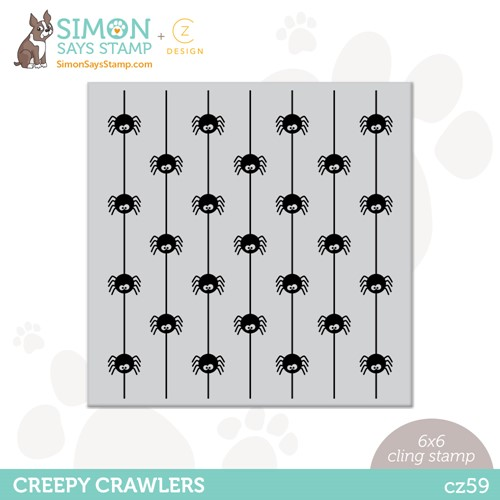 CZ Design Cling Stamp CREEPY CRAWLERS cz59 Stamptember Preview Image