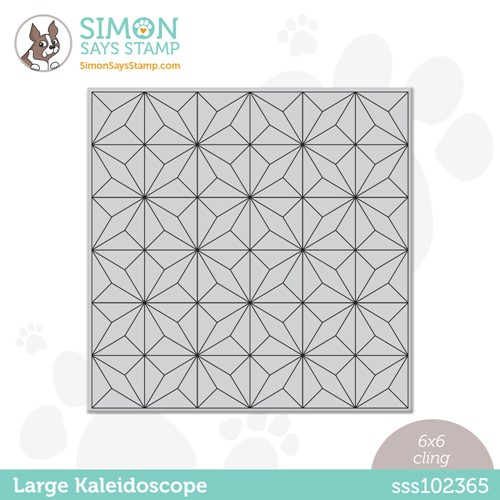 Simon Says Cling Stamp LARGE KALEIDOSCOPE sss102365 Stamptember Preview Image
