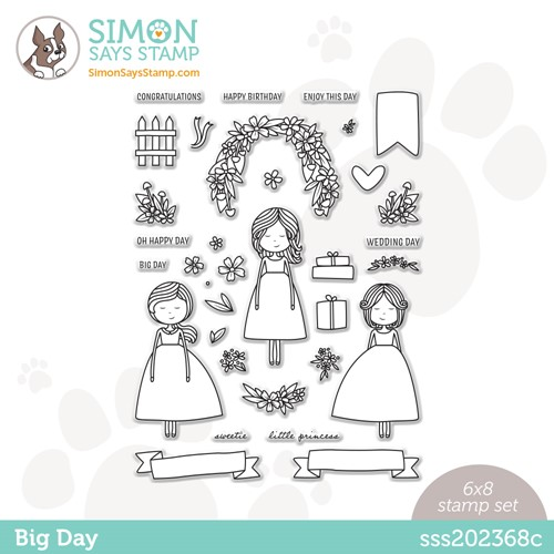 Simon Says Clear Stamps BIG DAY sss202368c Stamptember * Preview Image