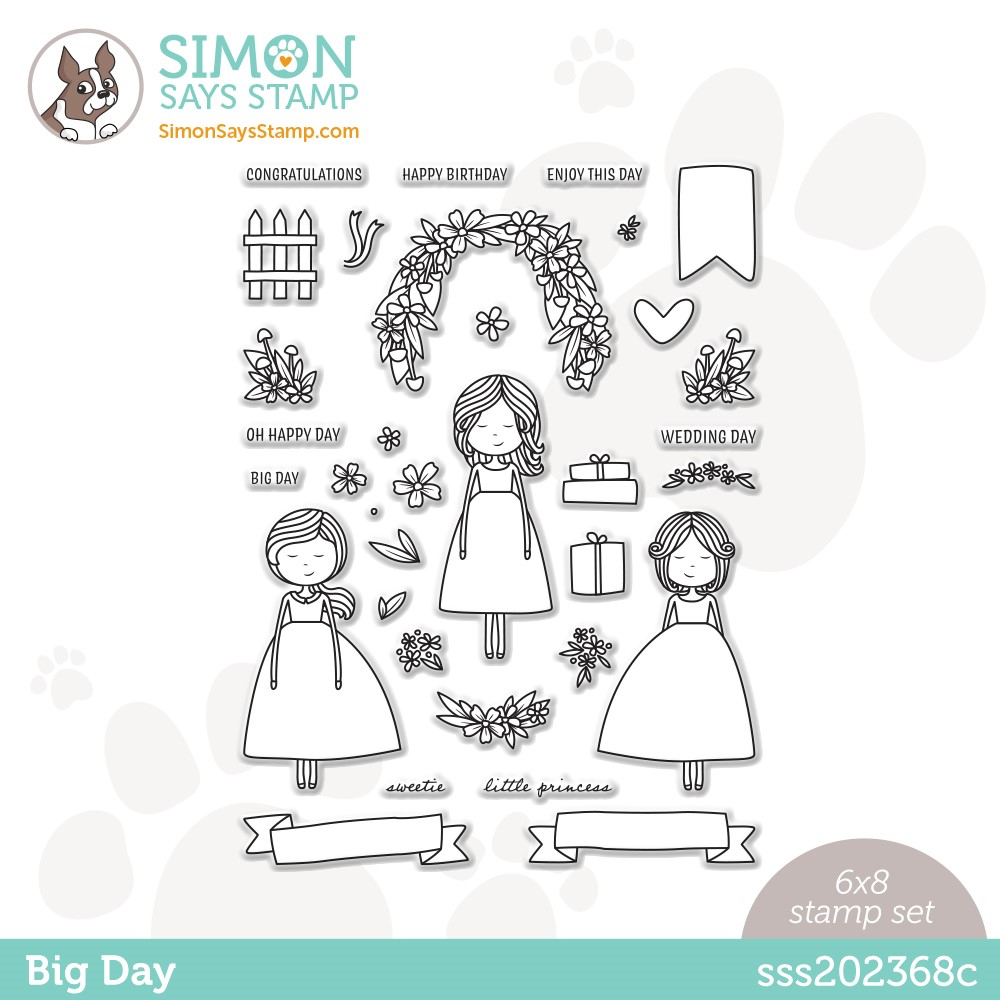 Simon Says Clear Stamps BIG DAY sss202368c Stamptember * zoom image