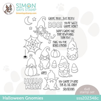 Simon Says Clear Stamps HALLOWEEN GNOMIES sss202348c Stamptember **
