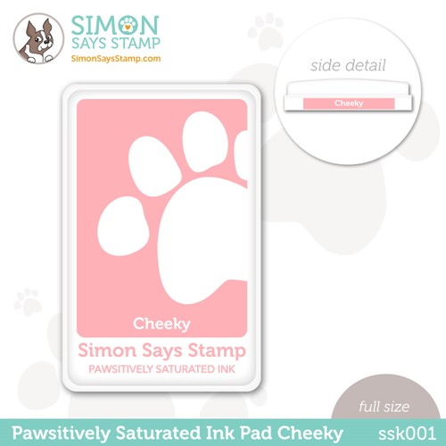 Simon Says Stamp Pawsitively Saturated Ink Pad CHEEKY ssk001 Stamptember Preview Image