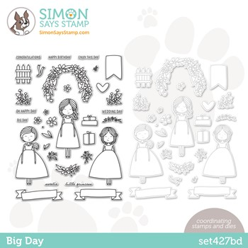 Simon Says Stamps and Dies BIG DAY set427bd Stamptember *
