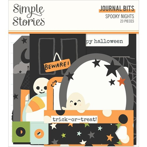 Simple Stories SPOOKY NIGHTS Journal Bits And Pieces 16417 Preview Image